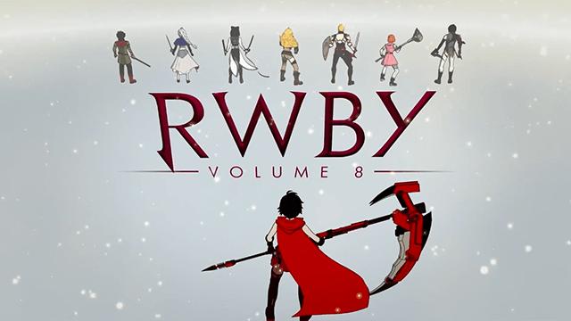 电视动画《RWBY》第八季OP动画公开 四位女主角在树不子的世界中与戮兽进行战斗