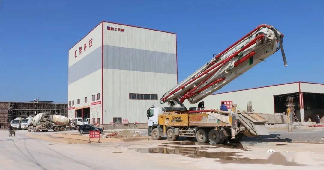 汇智科技:一期刚建成投产,二期年产60万吨沥青混凝土搅拌站又在加快建设