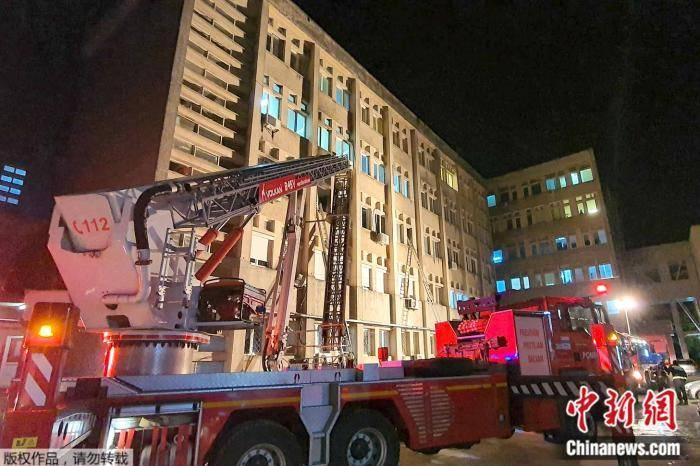 罗马尼亚一家新冠定点医院起火 致10人死7人伤