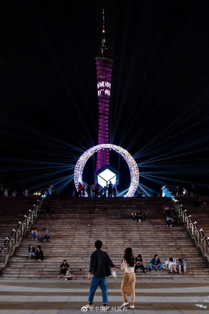 广州国际灯光节今晚开锣!