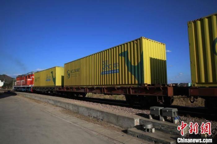 首列多省跨区域合作中欧班列从义乌首发