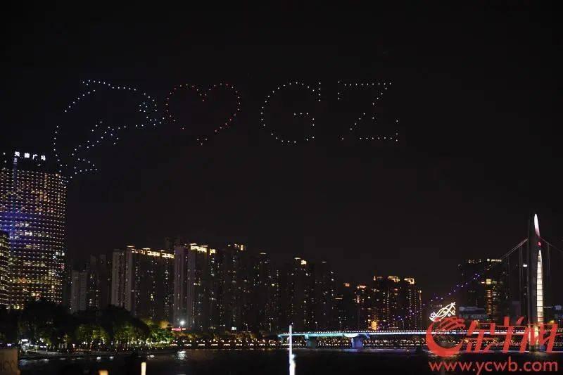 靓出新境界!一江两岸光影璀璨!广州国际灯光节正式开秀