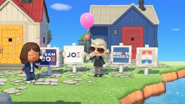 《动森》要求用户避免政治内容,此前拜登等人用该游戏宣传