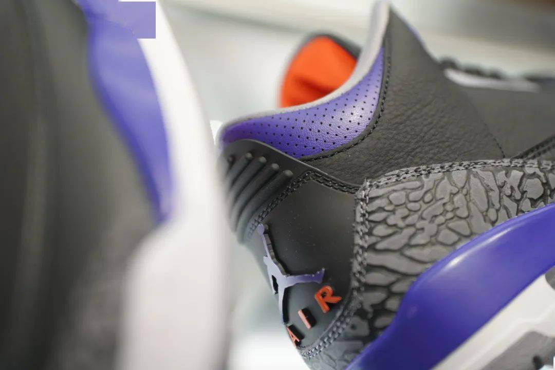 "Air Jordan III Retro ""Court Purple"" 