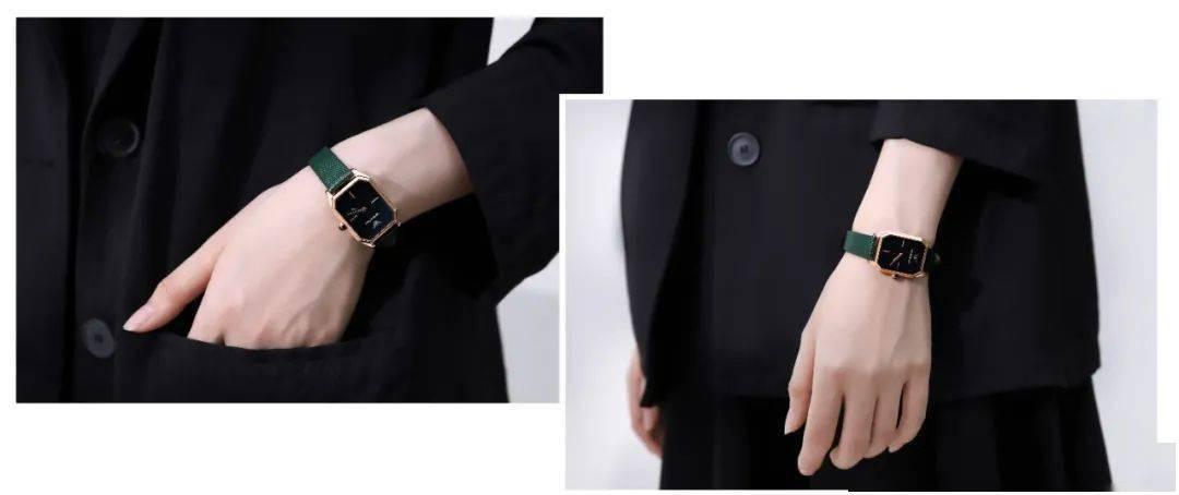 戴一块手表为造型加分