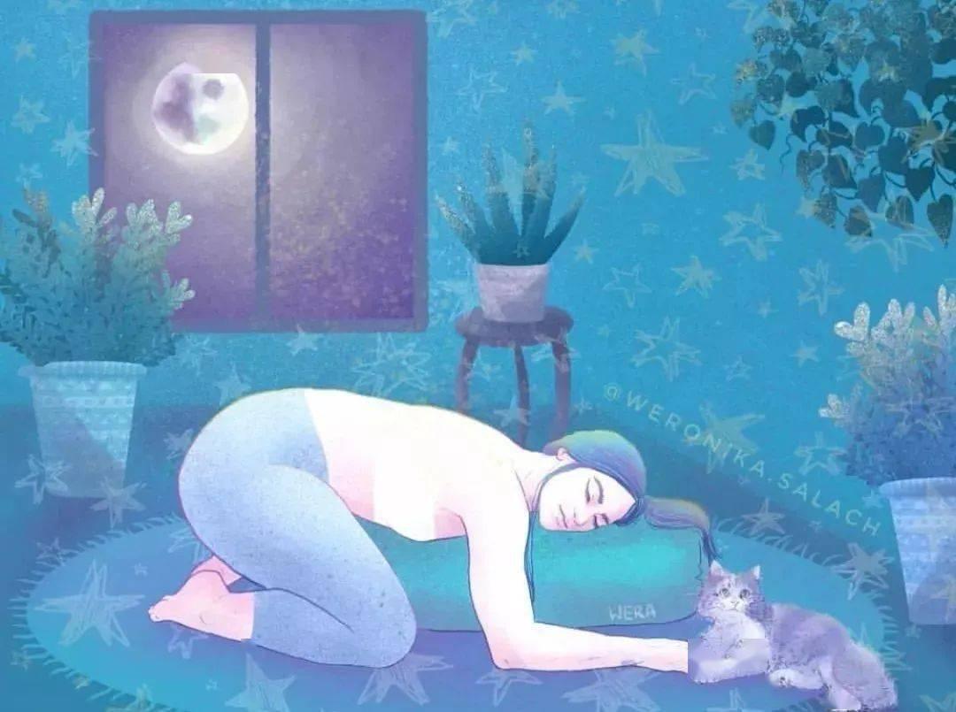 瑜伽如何缓解焦虑?8个体式让你练完身心舒畅!