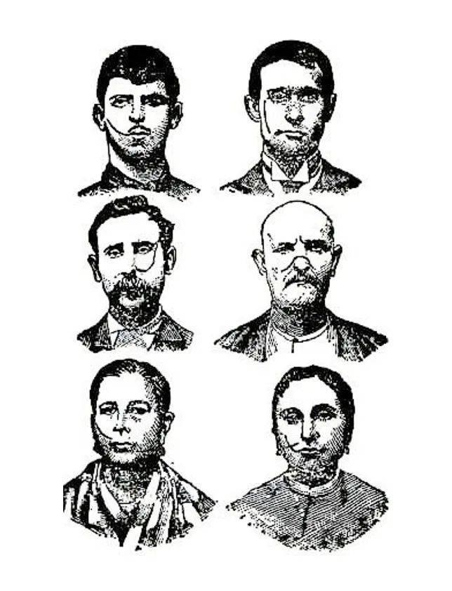 1906年的卡莫拉家族成员