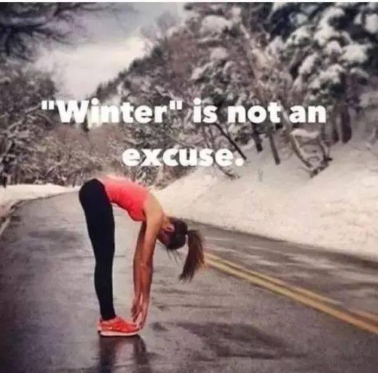 起床靠勇气,跑步凭毅力,天冷你还能早起吗?