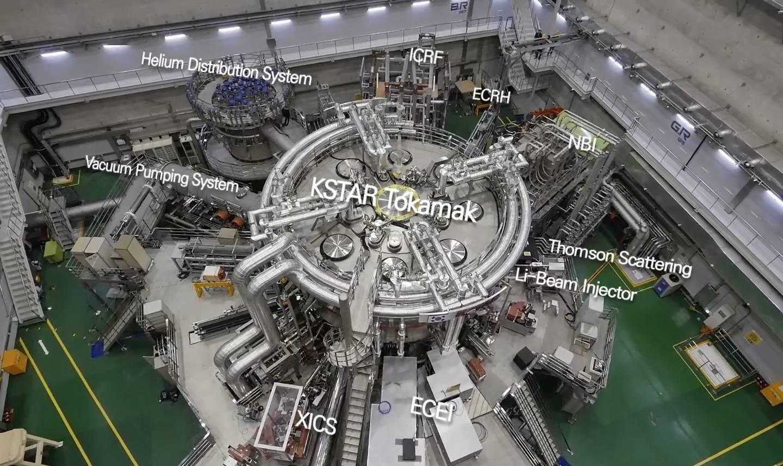 """韩国核聚变装置 """"KSTAR """"在1亿摄氏度下运行20秒"""