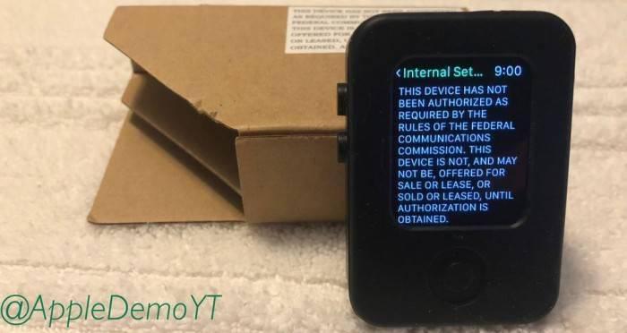苹果手表原型间谍照片曝光:丽莎·辛普森头像APP是亮点
