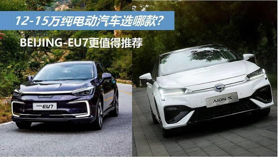 12-15万的大众纯电动车,续航和空间都有,推荐哪个更好?