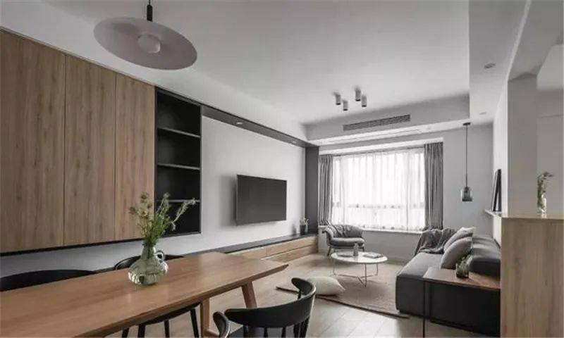 90㎡三室两厅,日式风格太漂亮!