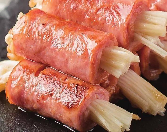 金针菇这样做,鲜香开胃,家宴待客做上一盘,好看又好吃