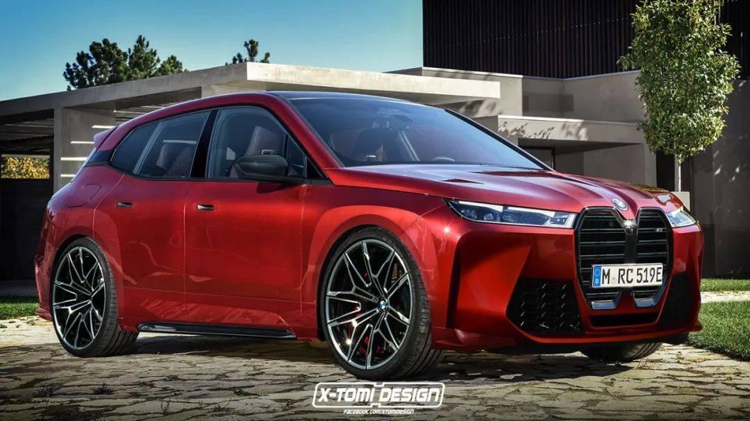设计图出来了,这是新款宝马SUV iX M想象版|酷车