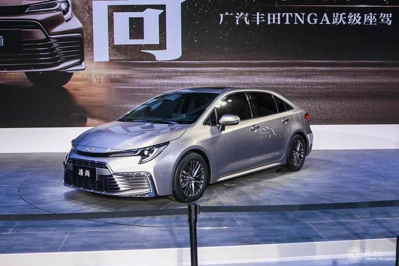 广汽丰田尚领介于雷凌和凯美瑞之间,将于今年上半年上市