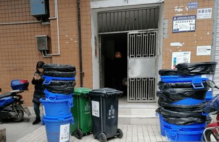 【街道动态】二郎街道扎实推进垃圾分类楼层撤桶工作
