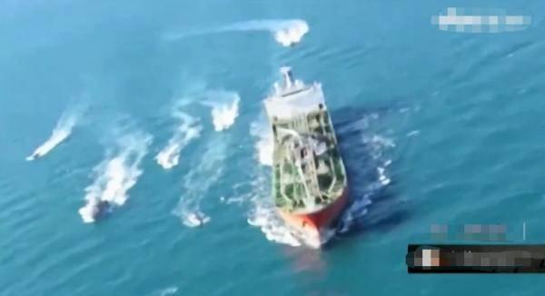 伊朗公布扣押韩国船只画面