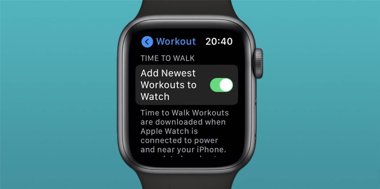苹果iOS 14.4 Beta显示Apple Watch将推送引导式语音行走练习
