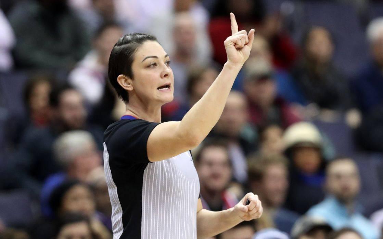 NBA史上仅7位女裁判,现役5人还没吹过季后赛