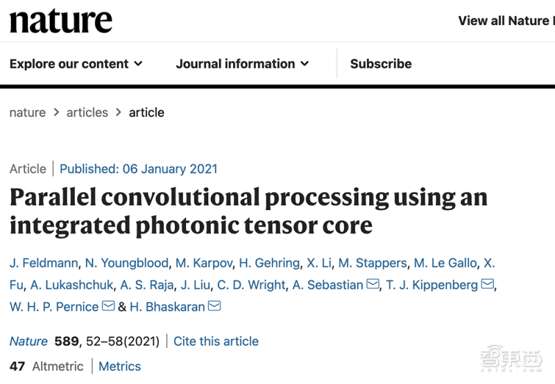 Nature连发两篇光子AI芯片论文!光子计算时代已至?  第3张