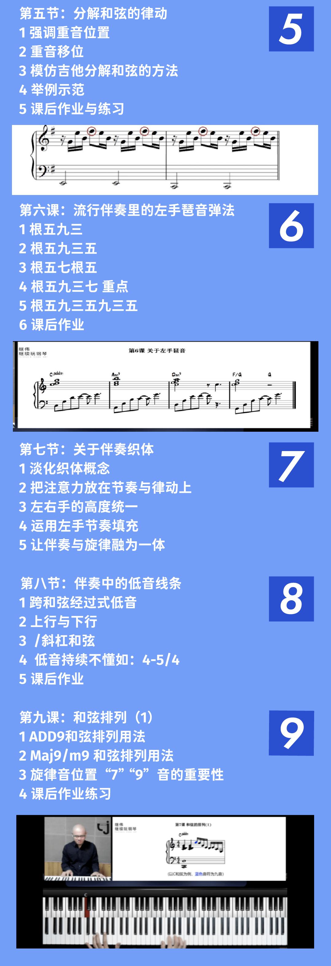 怎么运用伴奏织体才能弹出一个好听的伴奏?