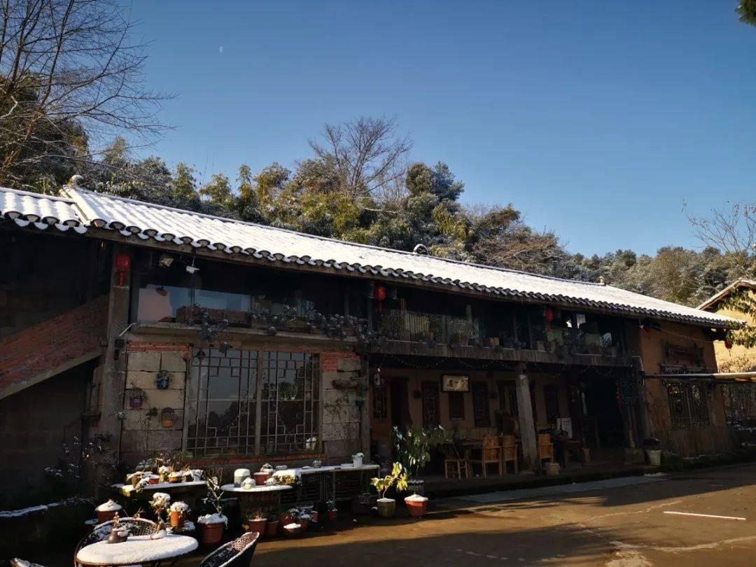 当民宿遇上雪花,巴南最容易看到浪漫雪景的民宿宝典在此
