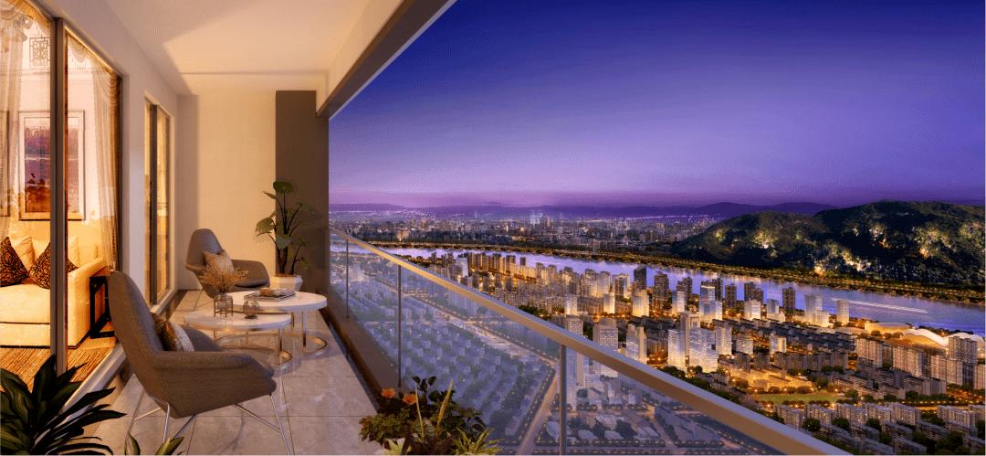 为什么豪宅不主张包阳台?看完就知道答案了!