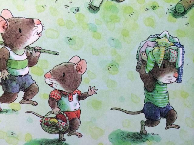 有声绘本:14只老鼠洗衣服  第3张