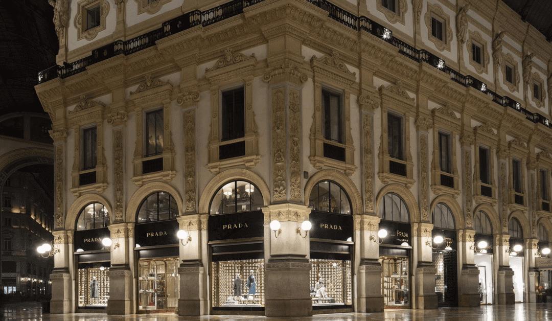 Prada 重组零售网络:关闭米兰盈利最差的一间门店,以4000万欧元出售