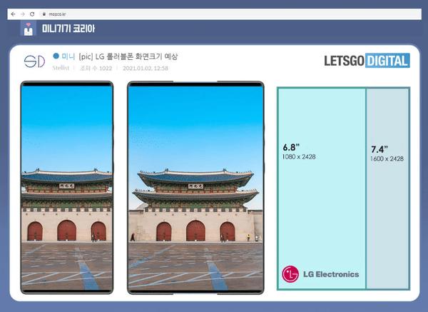 LG新伸缩屏手机设计发布!实际印象很好