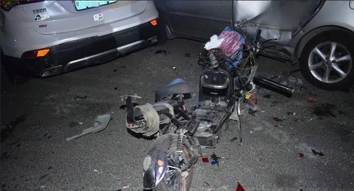 1死3伤!广东男子凌晨酒驾,撞毁9辆车,致1死3伤!