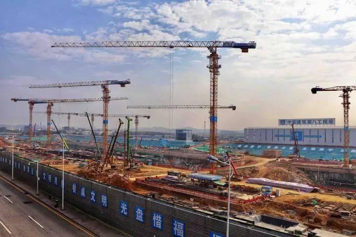 飞机高铁无缝换乘!南宁国际空港综合交通枢纽工程明年8月竣工