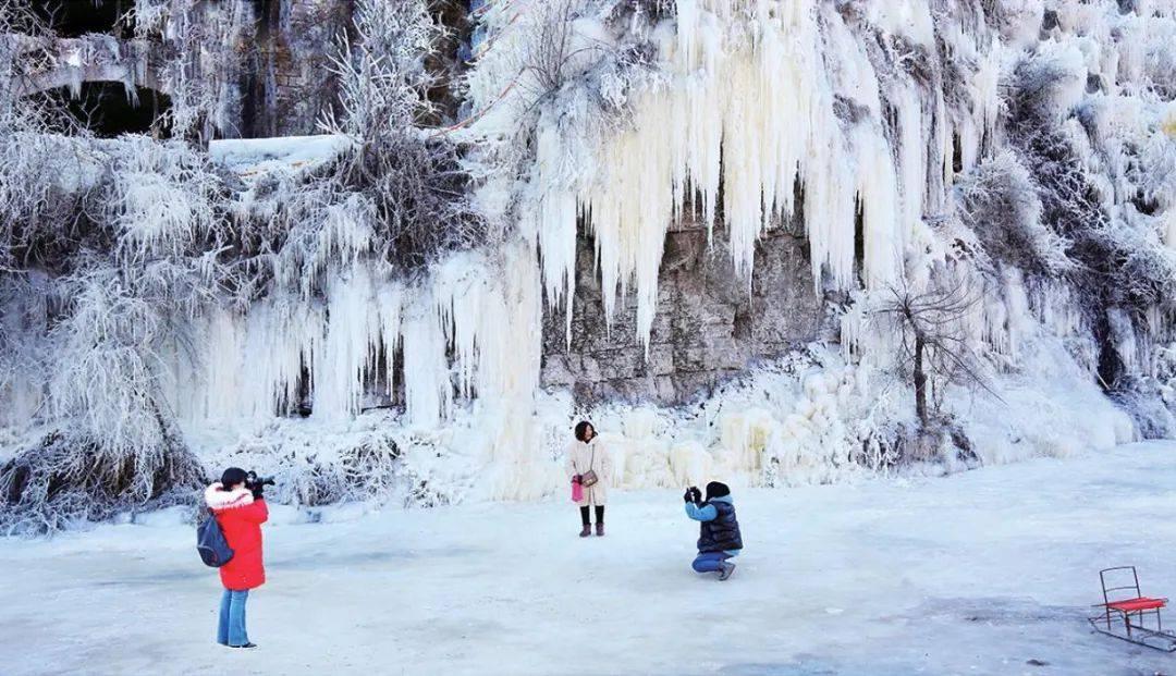 壮观!灵动!冬天专属!山西的冰瀑,绝美!  第10张