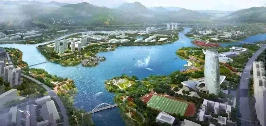 对标中心城区!福州大学城建设方案正式印发!最大人工湖初具规模
