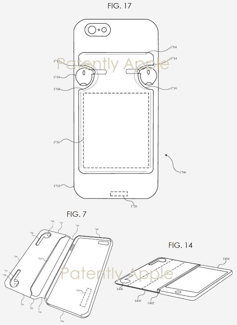 最前线 | 用iPhone手机壳给AirPods充电?来看看苹果的最新专利