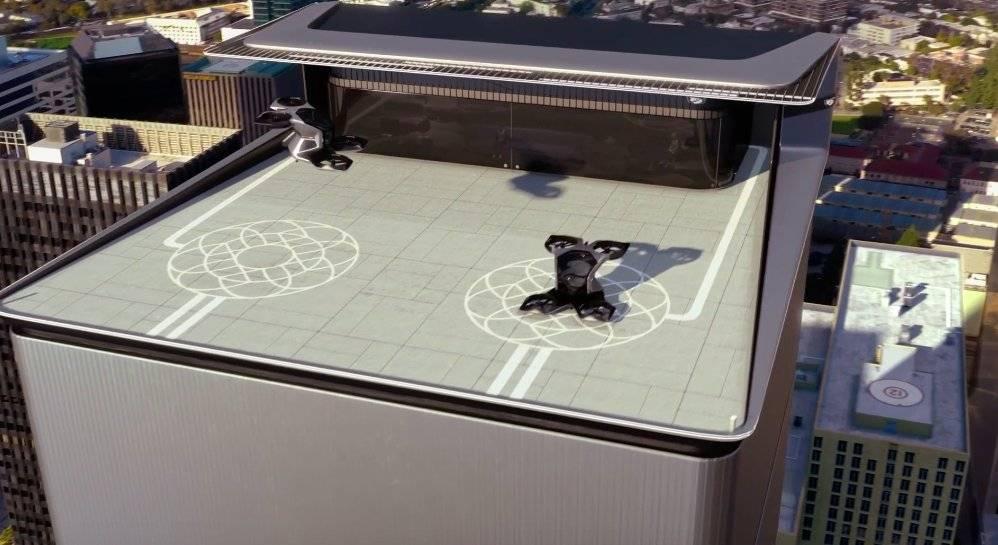 未来飞行汽车:凯迪拉克也展出概念载人无人机