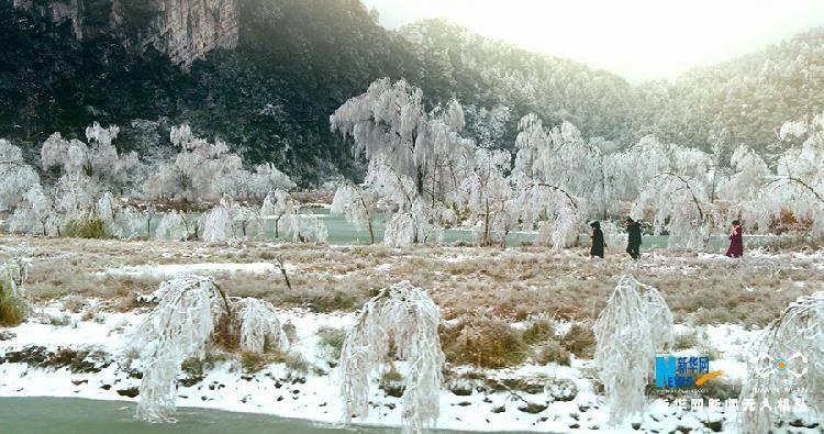 雪后重庆山中美景,每一帧都是仙境!