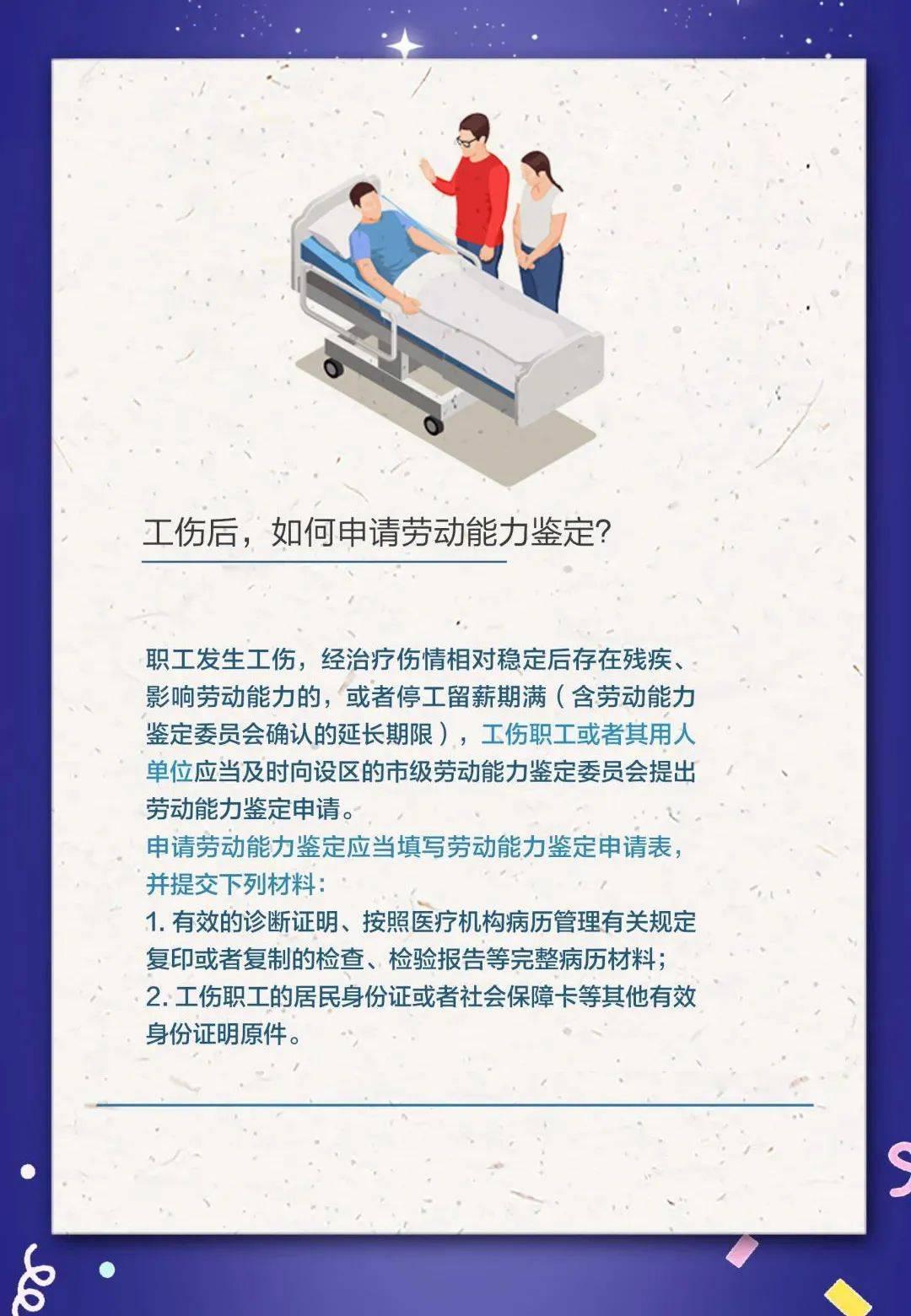 【人社日课】工伤后,如何申请劳动能力鉴定?