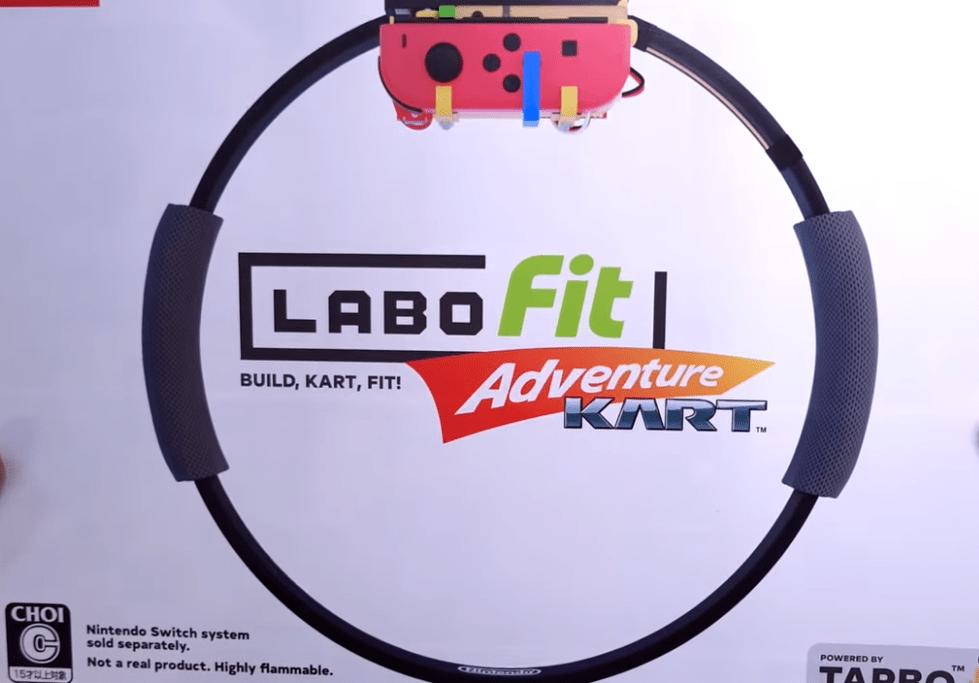 """将健身环改造成方向盘,技术宅开发出了""""Labo大冒险"""""""