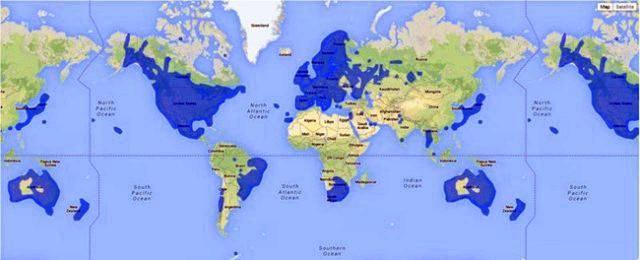 谷歌实时在线街景地图(卫星高清村庄实时地图)