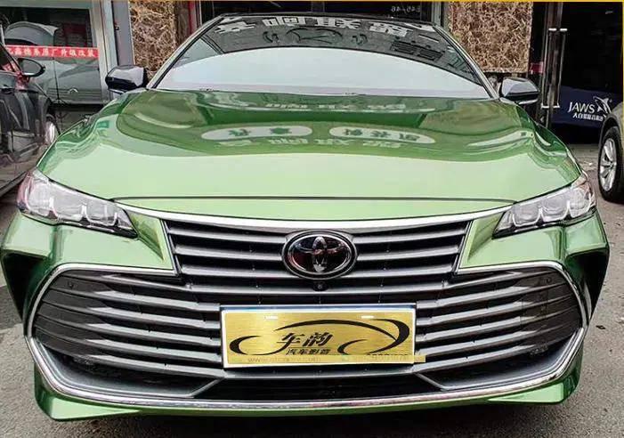 汕头丰田亚洲龙汽车音响改装升级,炫酷的车身配顶级音响