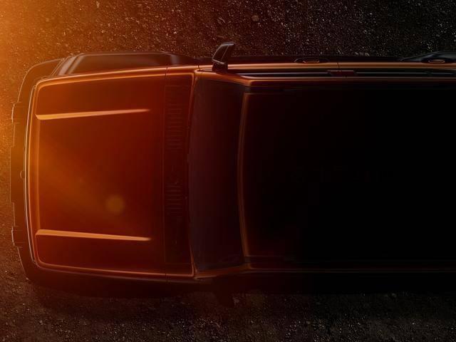 WEY越野SUV整车轮廓曝光 展现WEY品牌造型新趋势图1