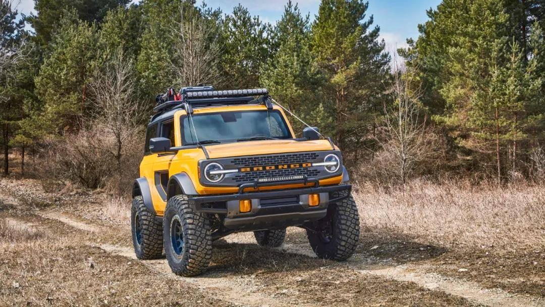 最大马力310匹 全新福特Bronco正式宣布