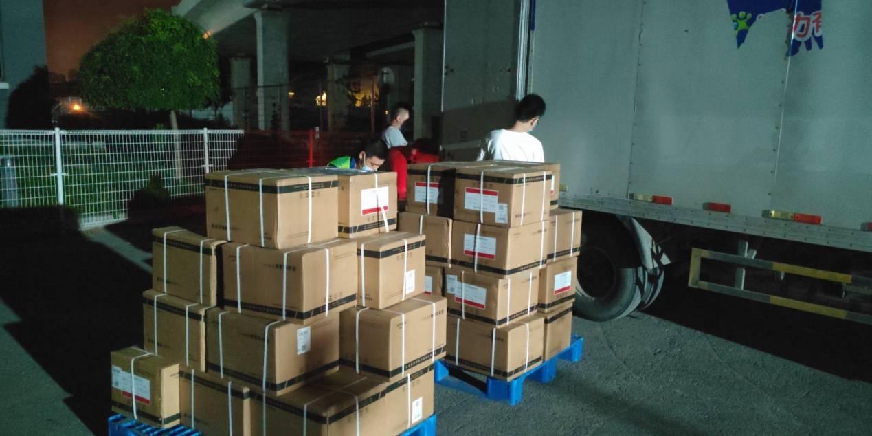 辽宁省江苏商会向大连捐赠2万只病毒采集管
