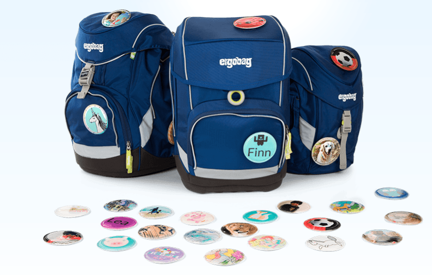 ergobag减负护脊,孩子的私人订制背包