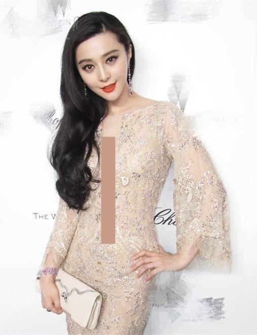 华鼎奖现场太冷清 范冰冰穿黑色长裙烈焰红唇 成为最大焦点 时尚家庭 第10张