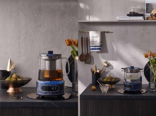 德国卡梭推出IH磁感玻璃12bet壶