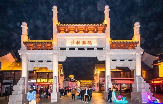 安徽淮北有一座隋唐运河古镇,古色古香,里面还有众多网红小吃