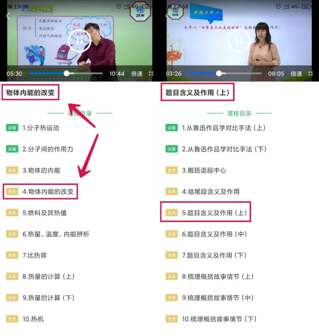 中小学同步课堂解锁版,名师同步在线教学视频课程随意看 其他软件 第4张