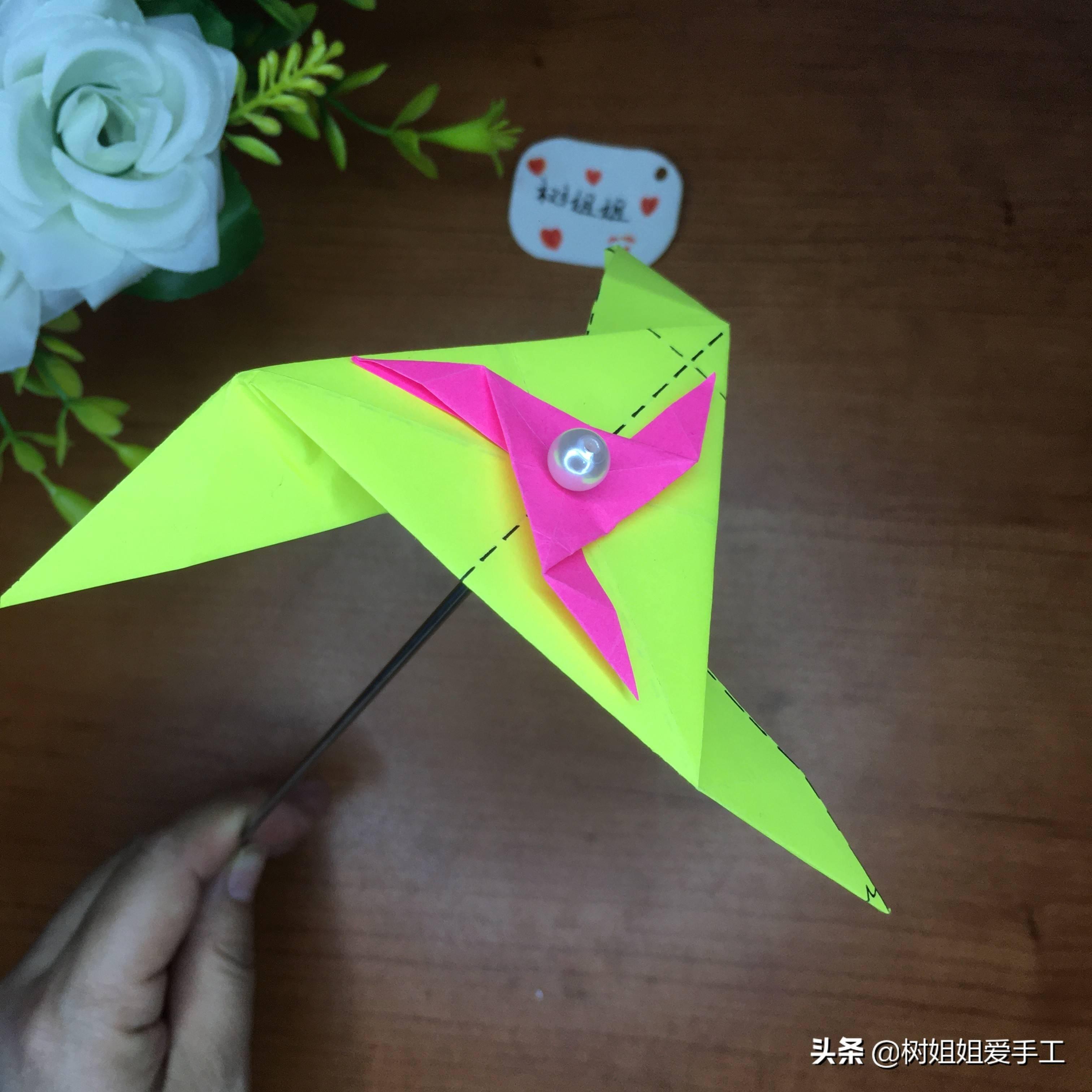 简单三角飞镖怎么折(可以变三种的飞镖)插图